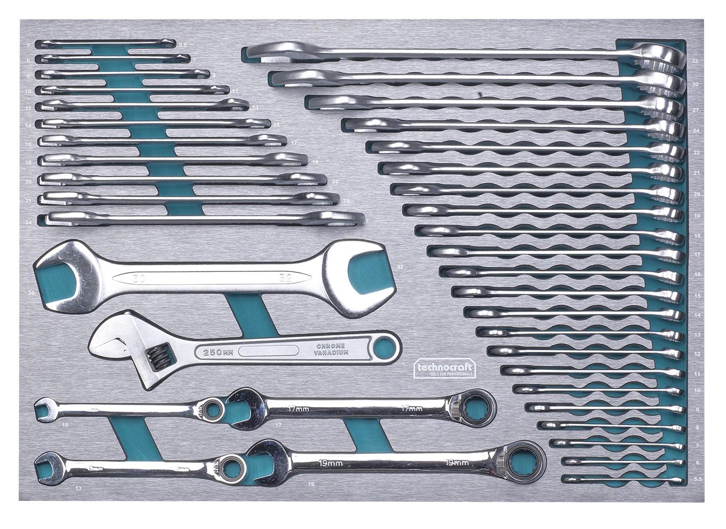 werkstattwagen swiss-team plus 743-tlg. mit knipex & pb swiss tools